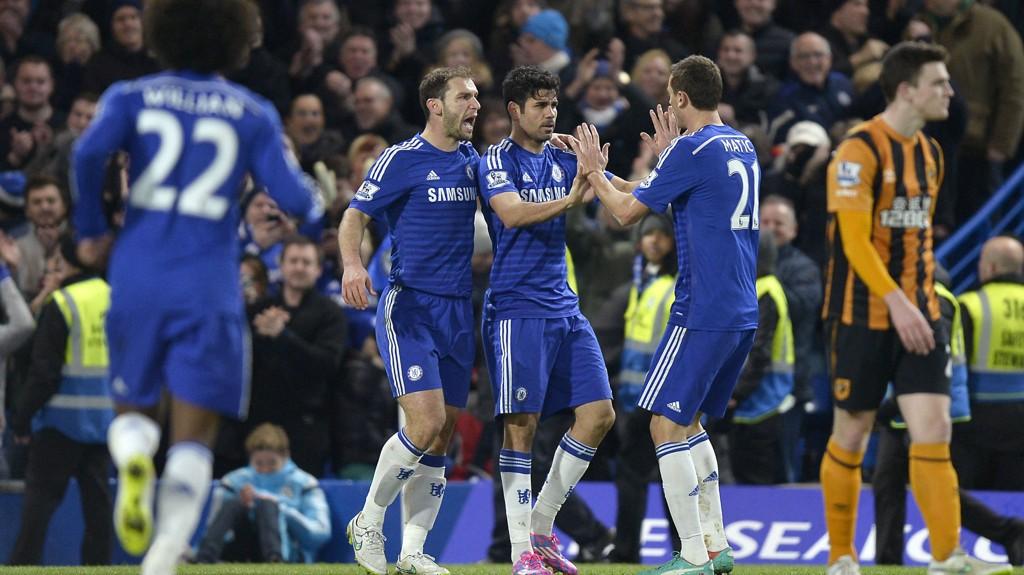 RIKERE: Chelsea blir enda rikere etter at de skrev under på en ny sponsoravtale.