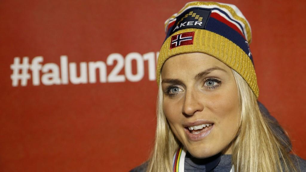 Therese Johaug er storfavoritt på lørdagens tremil i Falun.