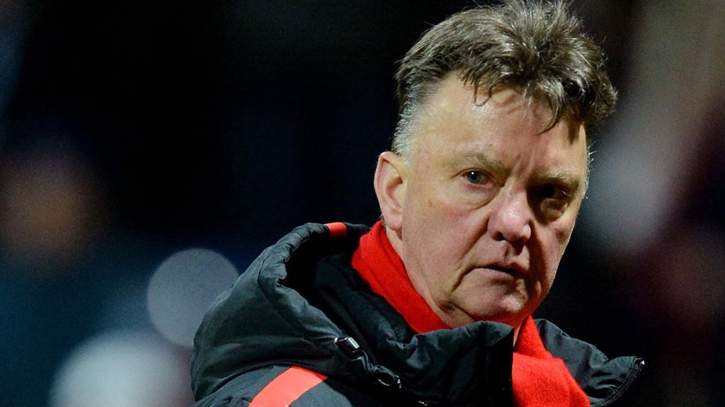 Manchester United-manager Louis van Gaal. FOTO: NTB scanpix