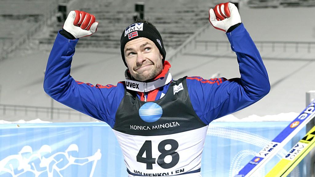 Anders Jacobsen fikk den fjerde plassen på det norske laget som skal kjempe om gullet i lagkonkurransen lørdag ettermiddag.
