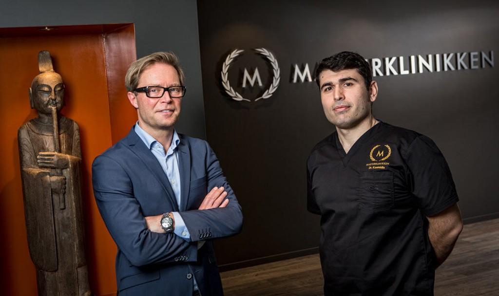 Sten Thure Eriksen og Dr. Kosmidis har mer enn 26 års samlet erfaring innenfor behandling av hårtap