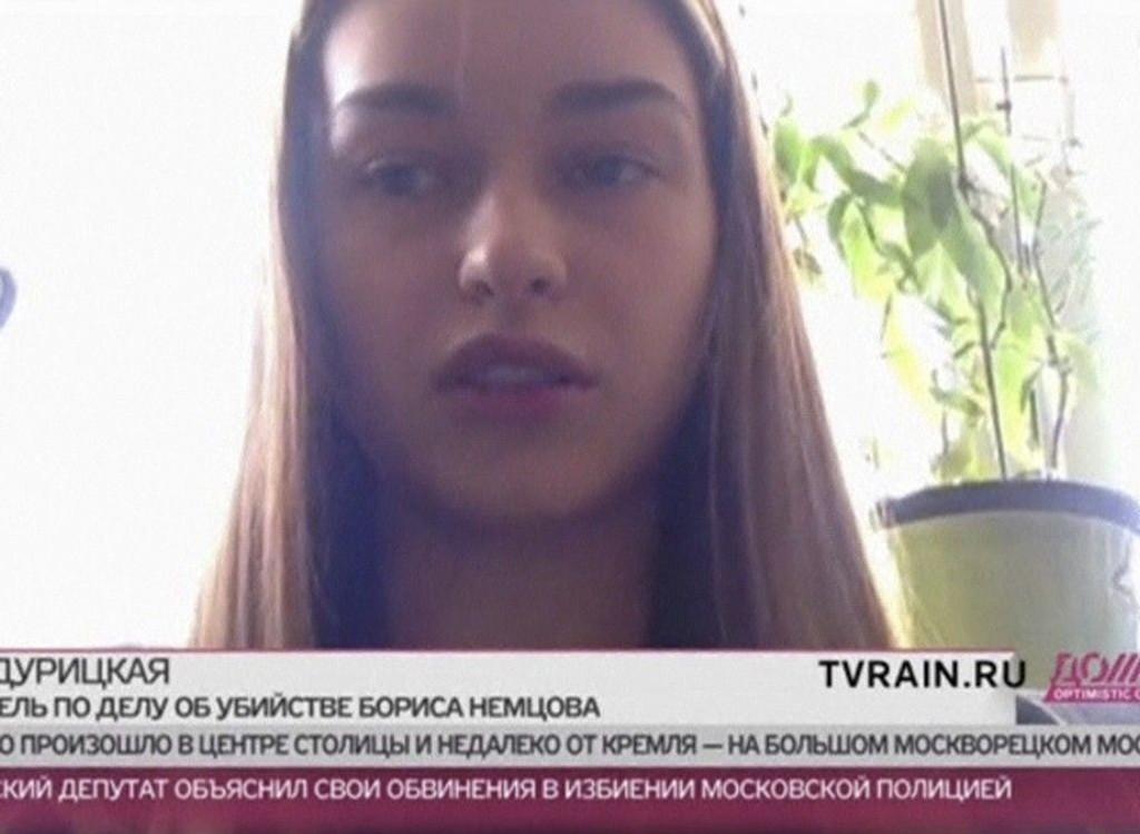 Boris Nemtsovs kjæreste Hanna Durytska, som var sammen med ham da han ble drept, snakker til nettavisa Dozjd.