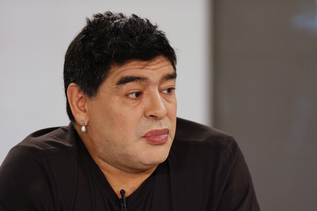 ENDRET: Diego Maradona har virkelig endret seg.