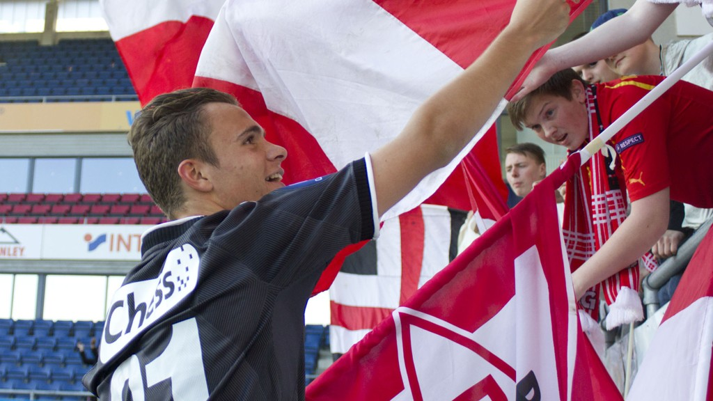 Andreas Vindheim nærmer seg svensk fotball.