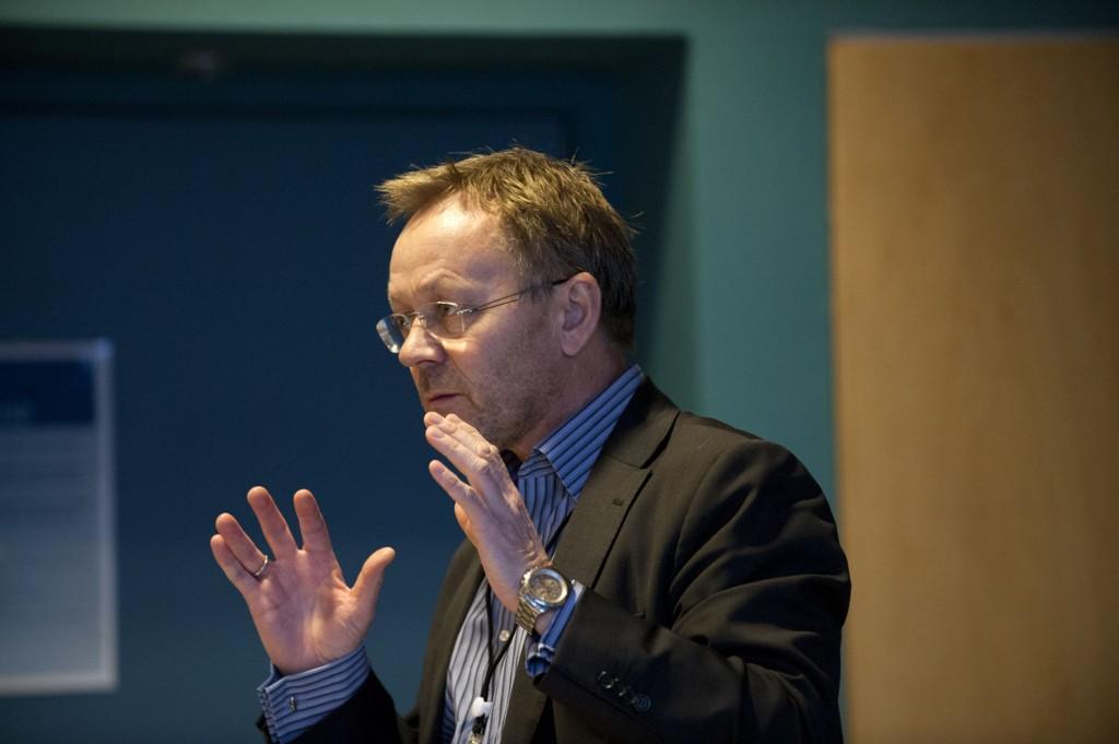 FORNØYD: - Totaltallene flater ut, mener Dagbladets sjefredaktør John Arne Markussen.