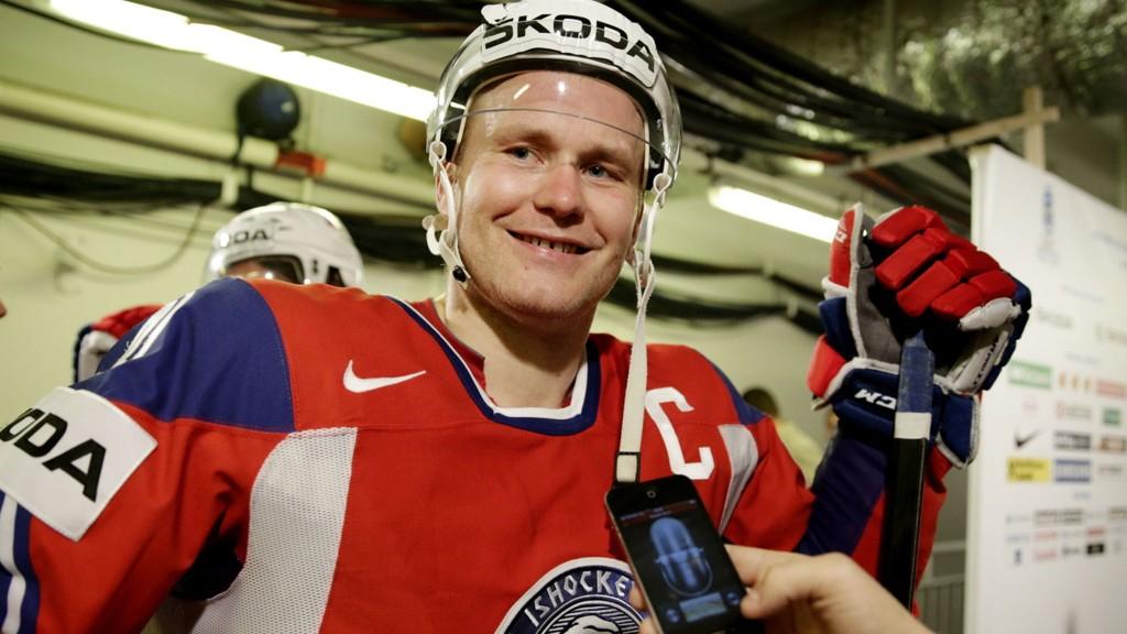 NY ASSIST: Patrick Thoresen var med på å sende SKA St. Petersburg nærmere kvartfinale i KHL-sluttspillet.