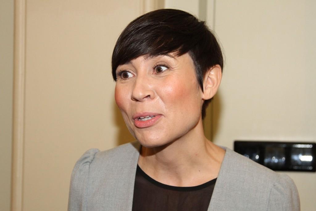 Forsvarsminister Ine Marie Eriksen Søreide