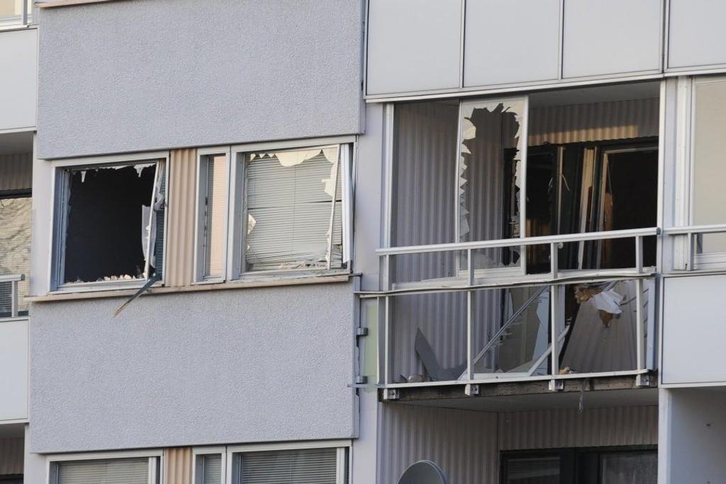 Politiet mener eksplosjonen var en bombe.