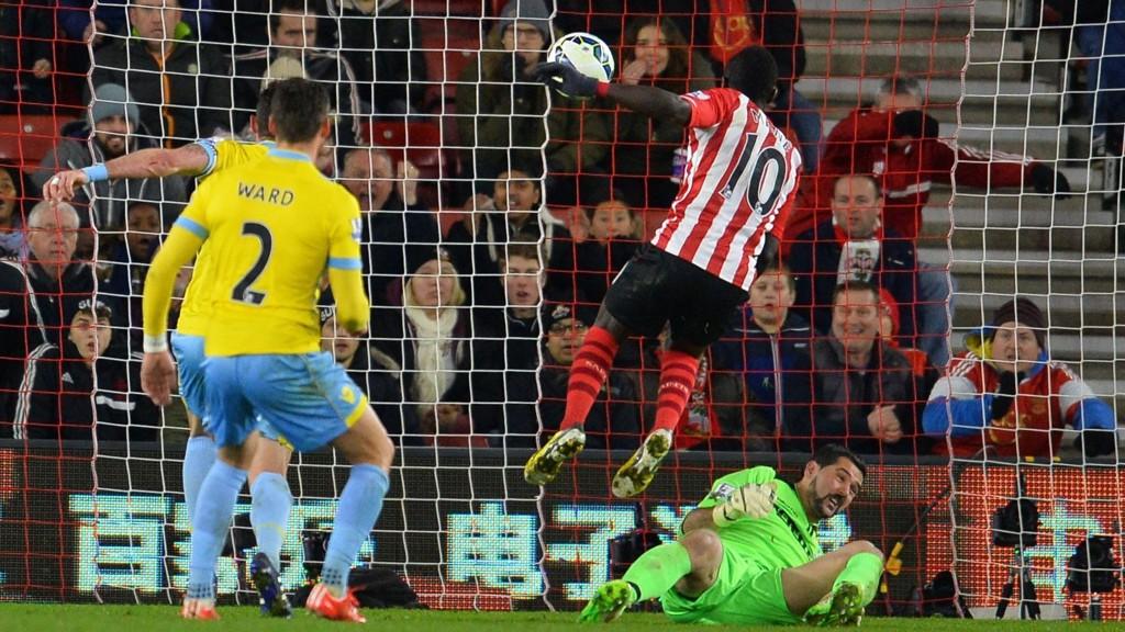 AVGJORDE: Southamptons Sadio Mane stanget inn kampens eneste mål.