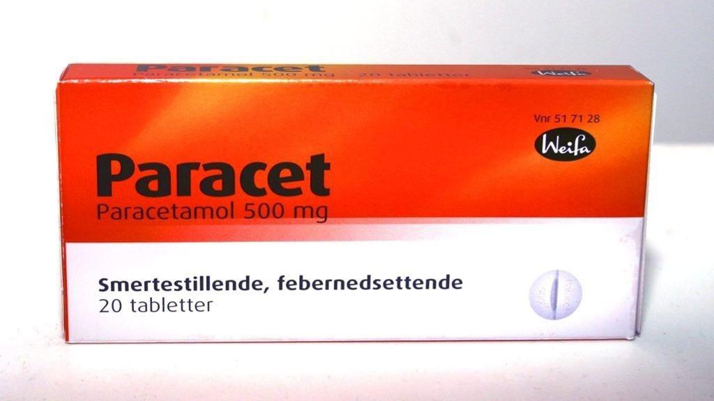 paracetamol bivirkninger
