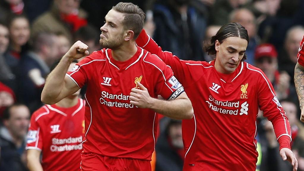 I FORM: Liverpool klatrer på Premier League-tabellen. Forrige runde slo de Manchester City. Onsdag kveld går de for ny seier.