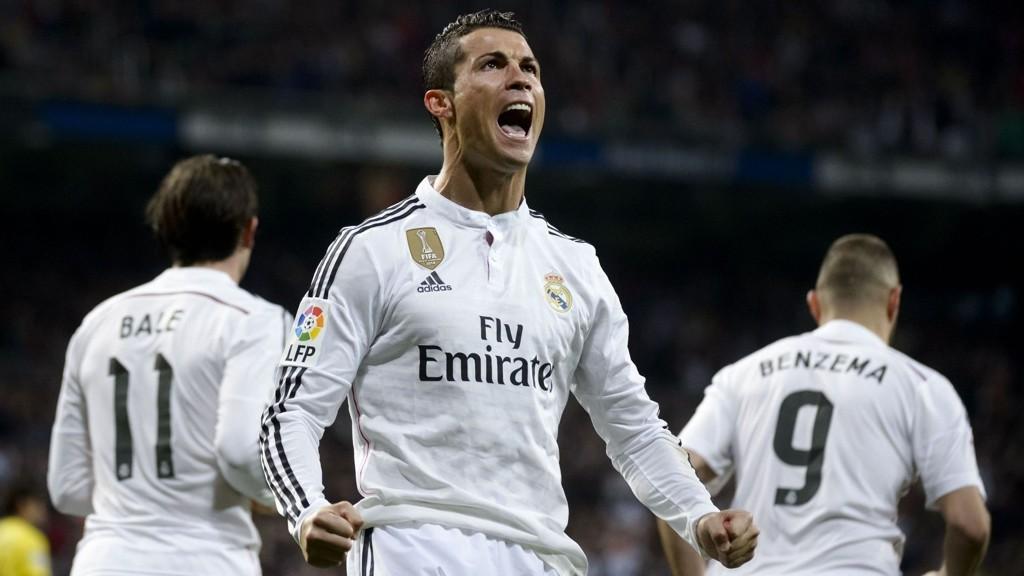 BEDRE AV TV-TITTING: Forsker mener TV-titting gjør fotballspillere bedre. Det er uvisst hvor mye Real Madrids Cristiano Ronaldo har sett på TV gjennom oppveksten for å bli en av verdens beste fotballspillere.