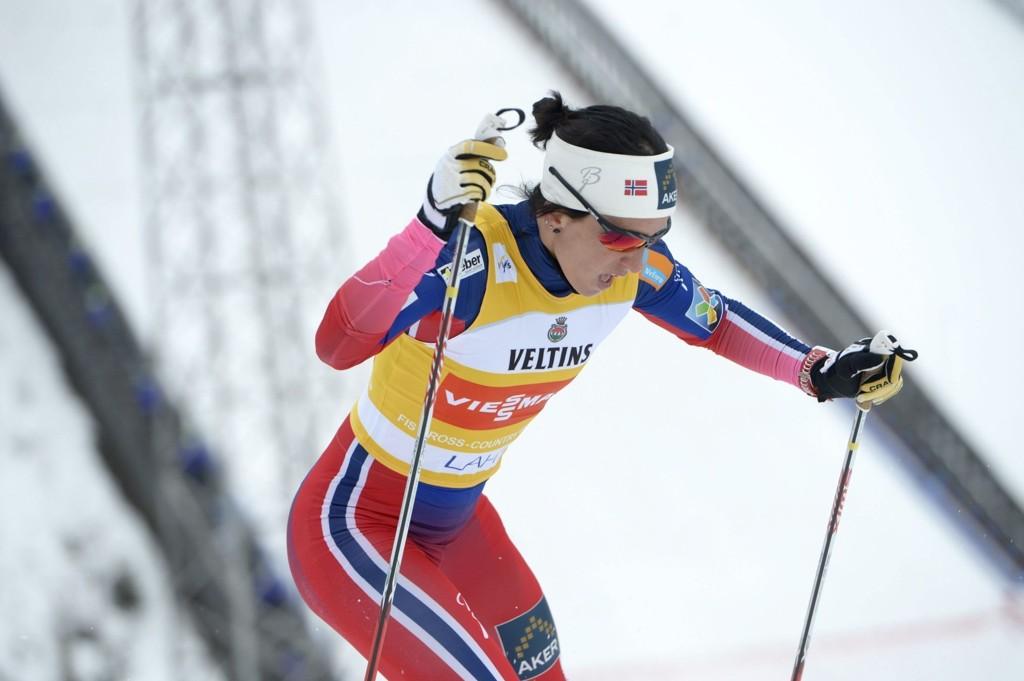 SEIER: Marit Bjørgen viste kjempekrefter.
