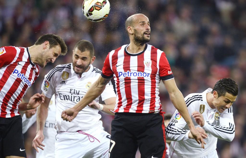 TAP: Det var ikke bare denne hodeduellen Real Madrid-spillerne tapte, lørdag kveld.
