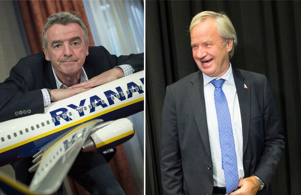 SOM SKAPT I HIMMELEN? Ryanair-sjef Michael O'Leary har vært i kontakt med Norwegians Bjørn Kjos en rekke ganger i løpet av pilotkonflikten.