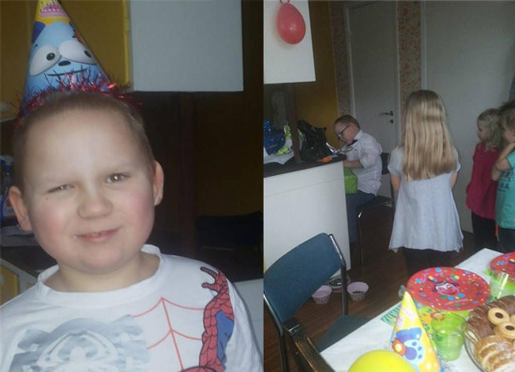jentebursdag 7 år