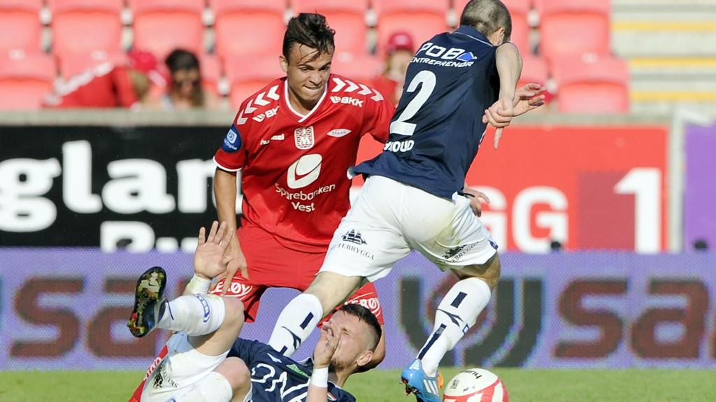 TIL MALMÖ: Bergensavisen hevder at Andreas Vindheim har skrevet under på en fireårsavtale med Malmö FF.