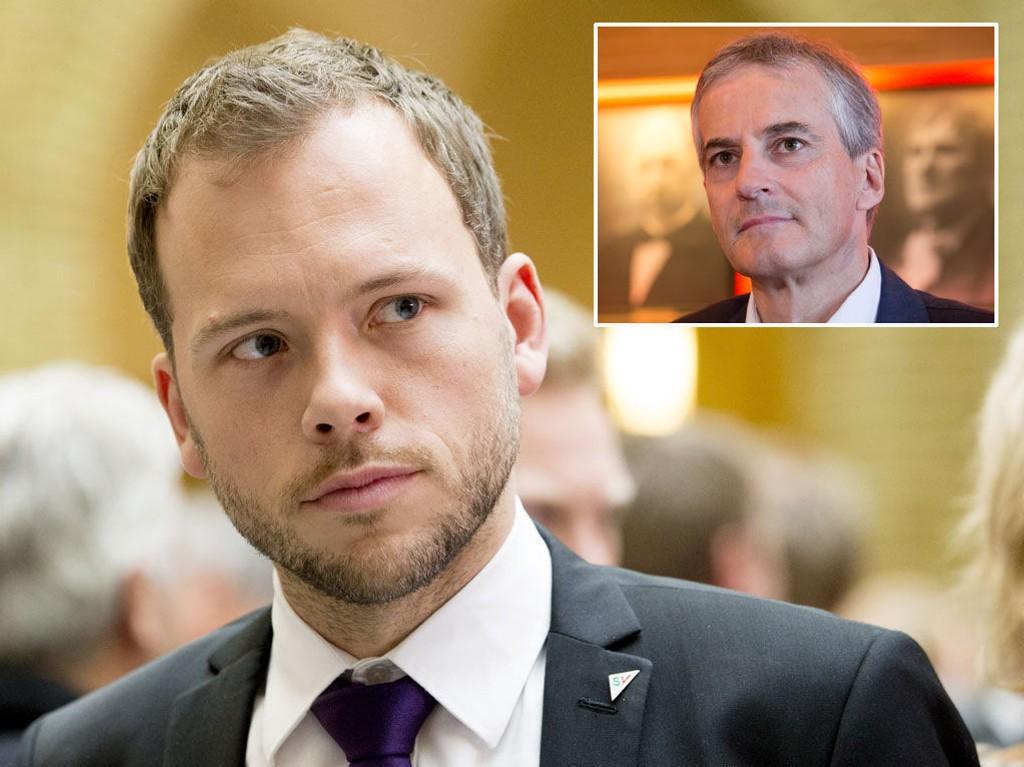STATSMINISTER?: Audun Lysbakken i SV vil sørge for at Arbeiderpartiets Jonas Gahr Støre blir statsminister i 2017.