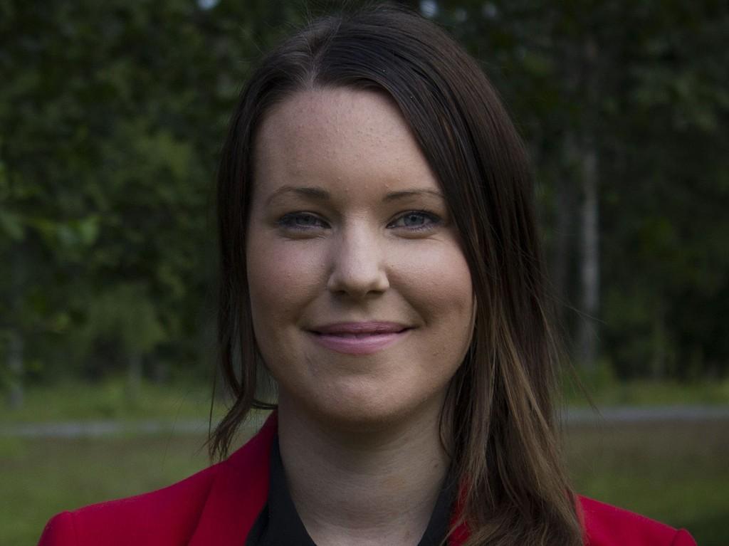 VEIEN TIL BEDRE SEX: Hilde Mari Bjørke, nestleder i Sosialistisk ungdom, er glad for at SVs landsstyre har sagt ja til å behandle SUs forslag til bedre seksualundervisning under helgens landsmøte.