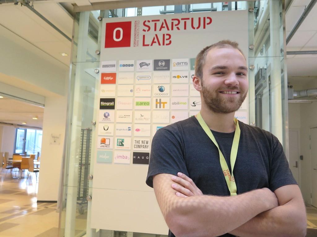Kjetil Holmefjord, inkubator StartUpLab, forteller at alle gründerne på StartUpLab er nøye plukket ut. Det er kun ett av fem firmaer som søker som får plass.