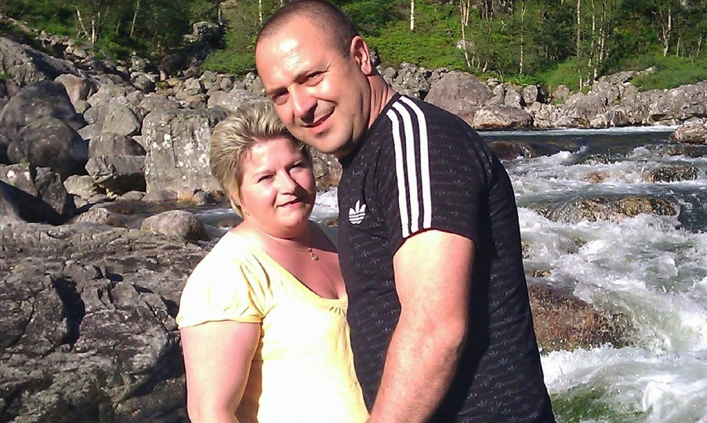 GIFT MEN SKILT: Anita Tvedeseter og Nuri Ceran har vært gift i ti år. Nå er han kastet ut av landet. Hun håper at hun en dag igjen får leve med ektemannen sin i Norge.