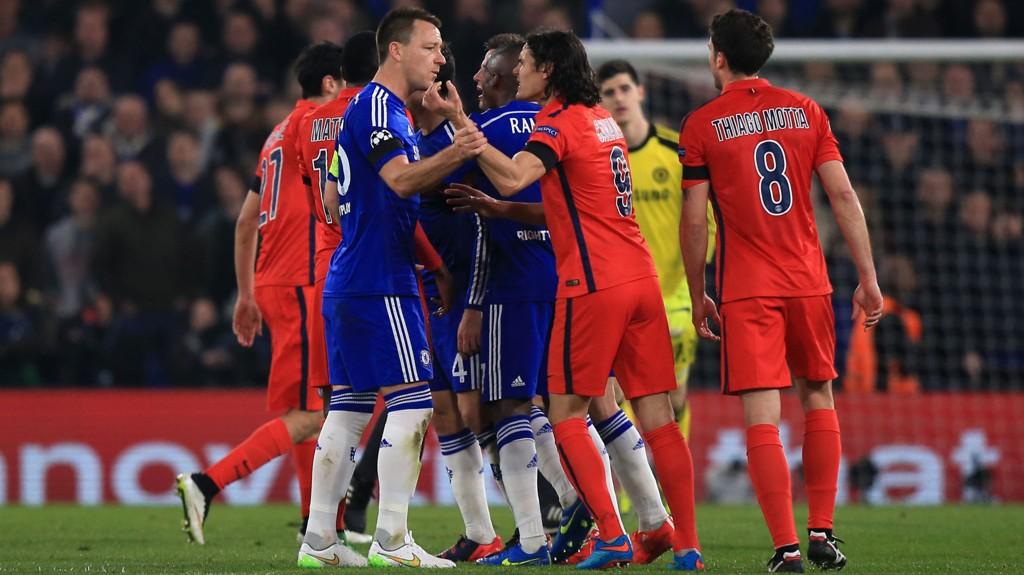 AMPERT: Det bli amper stemning mellom Chelsea og PSG under onsdagens Champions League-kamp. FOTO: NTB scanpix