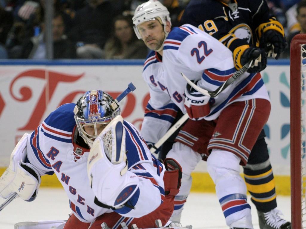 HELT: Mackenzie Skapski har ikke gjort seg bort når han har fått sjansen i New York Rangers.