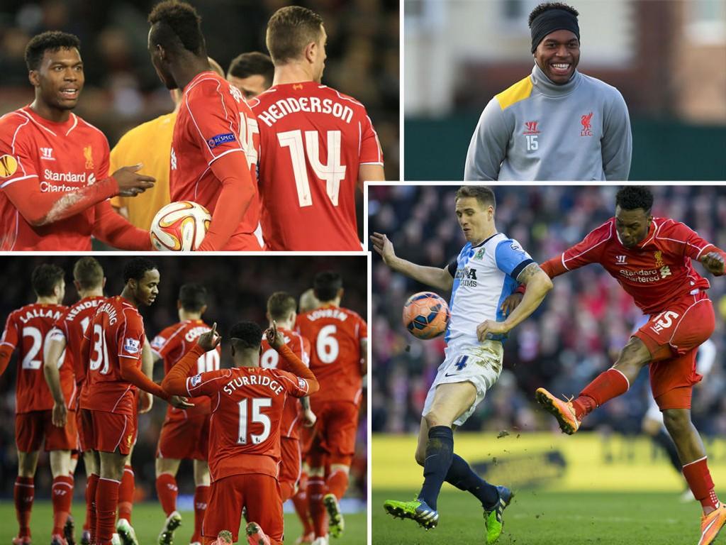 SUKSESS: Daniel Sturridge har virkelig hatt suksess i Liverpool-trøyen.
