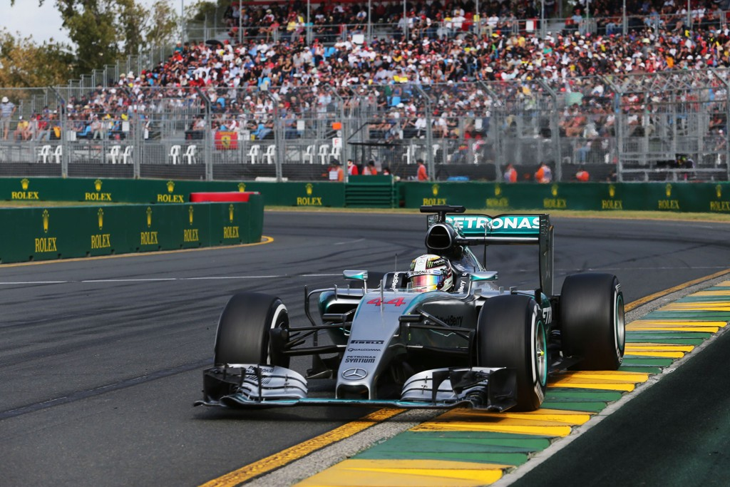 SEIER: Lewis Hamilton vant i Australia.