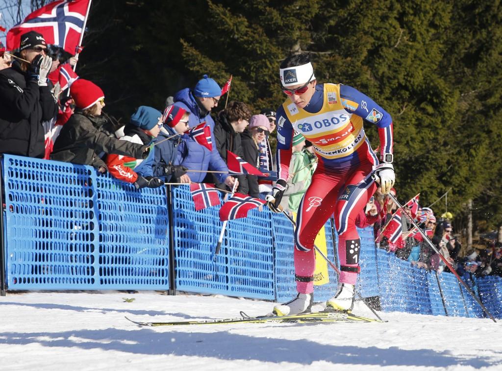 SEIER: Marit Bjørgen vant i Holmenkollen.