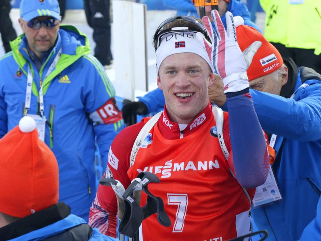 MEDALJE IGJEN: Tarjei Bø har hatt et fantastisk VM og rundet av med nok en bronsemedalje