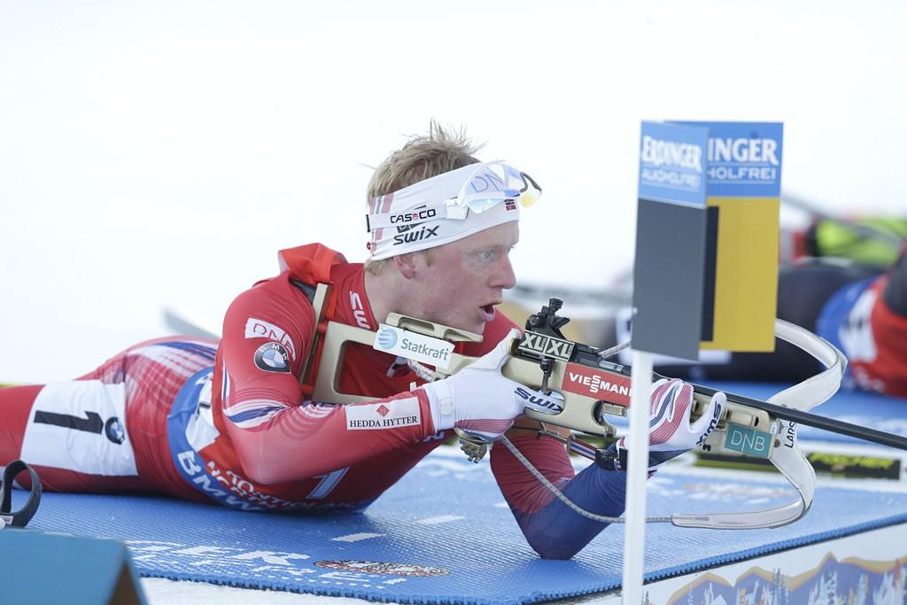 SKADET: Johannes Thingnes Bø avslørte at han har vært skadet under hele VM.