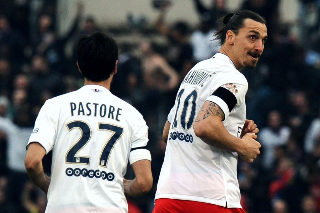 TAP: Veien mot ligagull i Frankrike kan bli enda lengre for Javier Pastore, Zlatan Ibrahimovic og PSG etter søndagens nederlag.