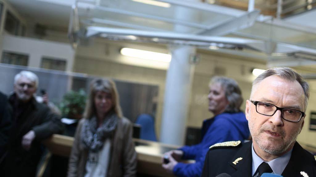 Oslos politimester Hans Sverre Sjøvold forteller at politiet har effektivisert systemet sitt.