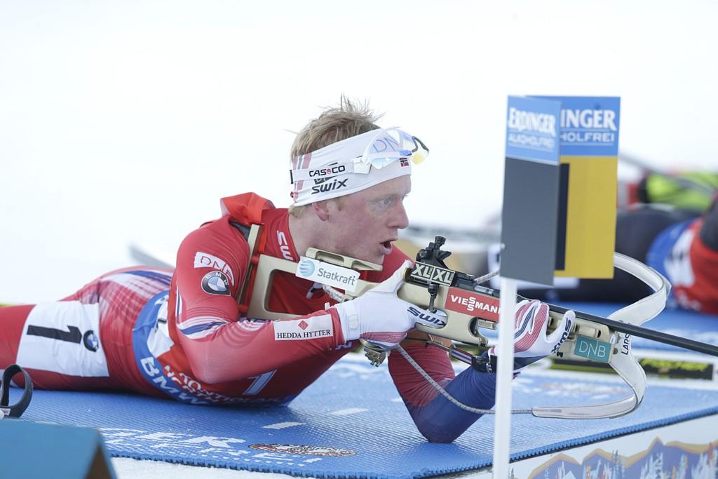 SKANDALE: Johannes Thingnes Bø gikk et unormalt svakt renn, torsdag.