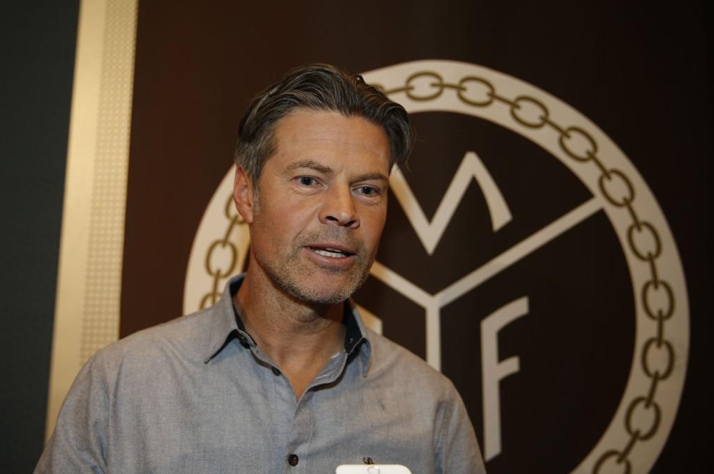 MØTER GOLIAT: Vegard Hansen og Mjøndalen er tilbake i det øverste selskap. Selv går de til oppgaven med lave forventninger.