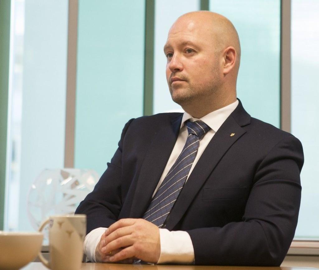 Justisminister Anders Anundsen (Frp)