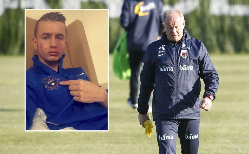 SPILLER FOR KOSOVO: Manchester City-spiller Bersant Celina virker enn så lenge ikke å ha noen planer om å spille for Norge.