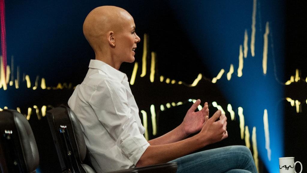 GJESTER SKAVLAN: TV-intervjuet med Gunhild Stordalen (36) ble spilt inn mandag denne uken.