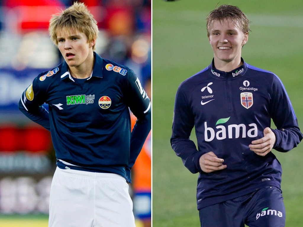 ETT ÅR HAR GÅTT: Siden Martin Ødegaard fikk sin debut i Tippeligaen.