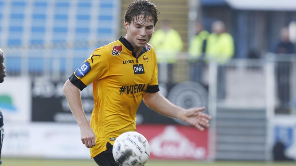 PUBLIKUMSFAVORITT: Marius Lundemo har spilt seg inn i LSK-fansens hjerter.