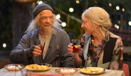 REISER I TID: Gard B. Eidsvold som Doktor Proktor og Kristin Grue som hans drømmedame Juliette Margarin.