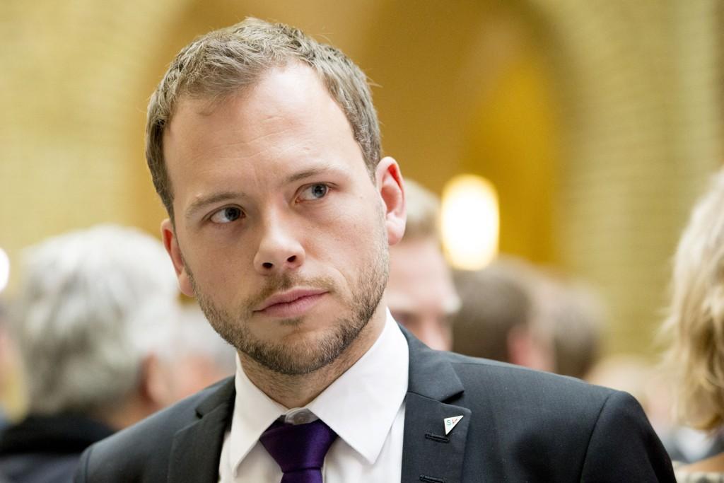 Audun Lysbakkens SV får elendige 2,6 prosents oppslutning på målingen Norstat har utført for Vårt Land.
