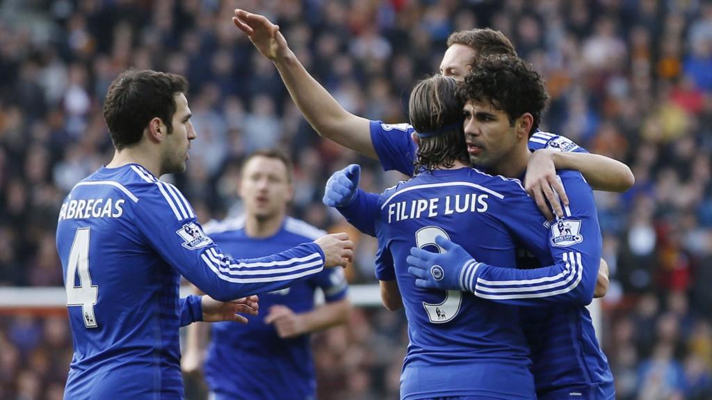 OVERLEGNE: Chelsea vil vinne Premier League med hele 13 poeng denne sesongen, hvis simuleringen til Sports Interactive blir rett.