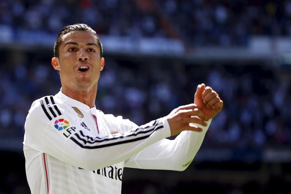 LEKESTUE: Det var fullstendig enveiskjøring da Real Madrid og Ronaldo valset over Granada i La Liga søndag.