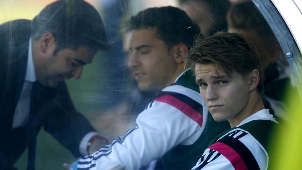 BENKET: Martin Ødegaard har blitt mye benket siden overgangen til Real Madrid Castilla.