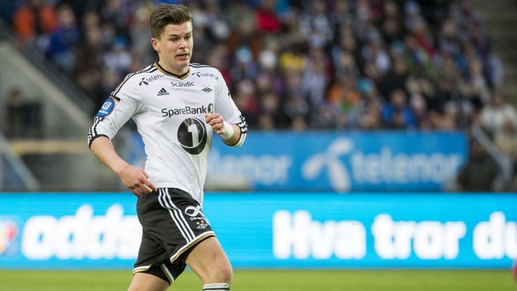 SKADET: Pål Andre Helland mister kampen mot Haugesund.