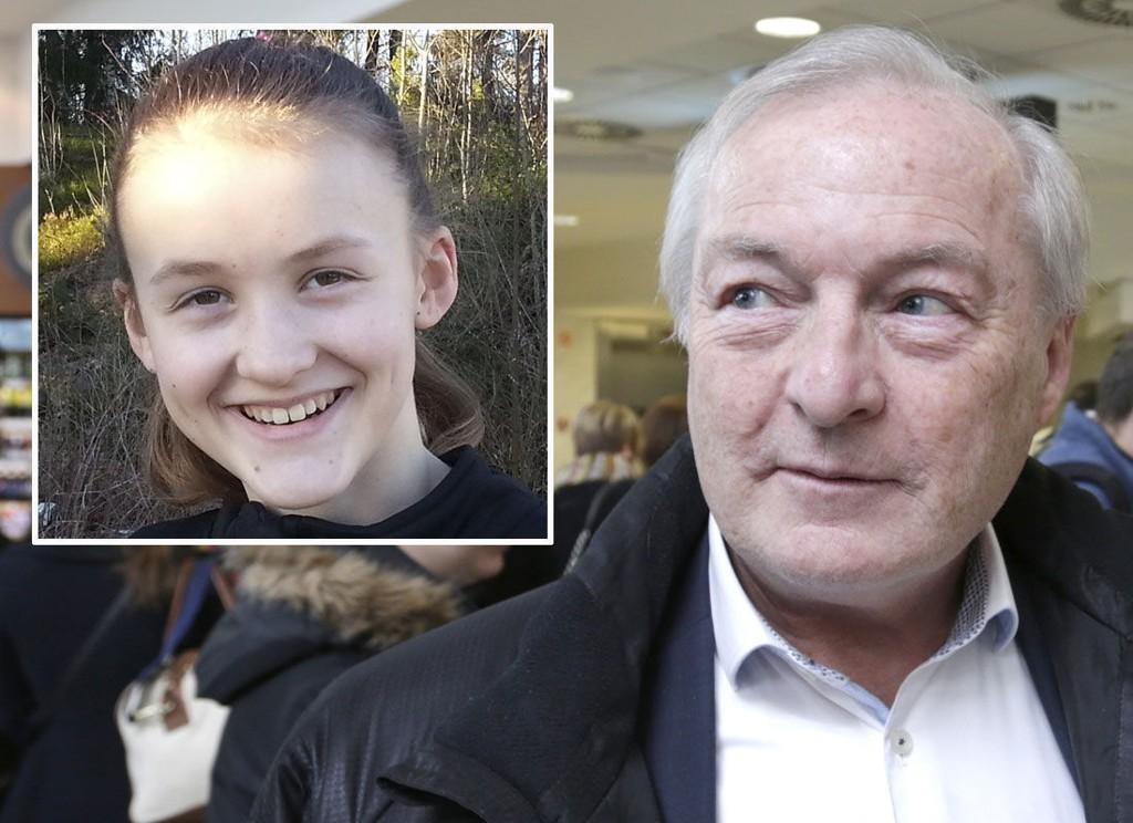 FÅR IKKE HJELP: Håndballpresident Karl-Arne Johannessen skriver til Thea Andresen (12) at han ikke kan hjelpe henne og at hun bør vente til hun er voksen med å bli god.