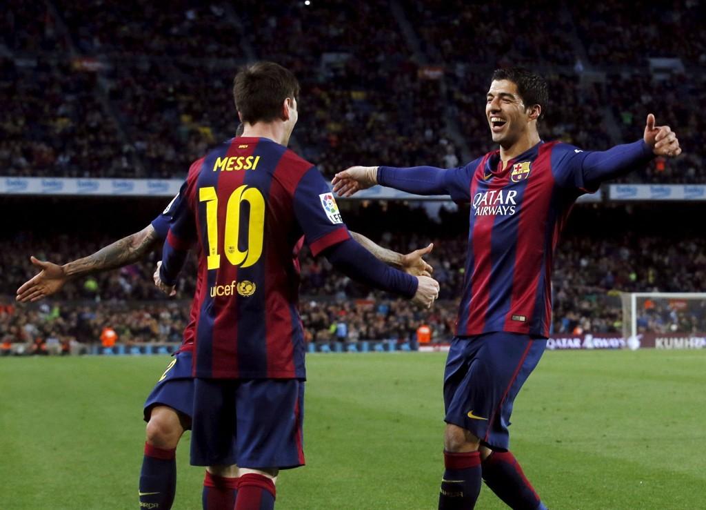 SCORET TO: Barcelonas Luis Suarez.