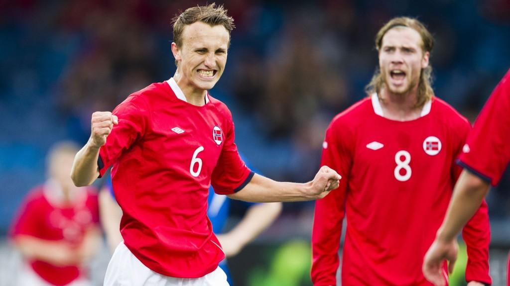 Magnus Wolff Eikrem og Jo Inge Berget (til høyre) spiller trolig begge fra start i kveldens toppkamp i Allsvenskan. Sistnevnte scoret to mål i debuten for Malmö i sesongåpningen.
